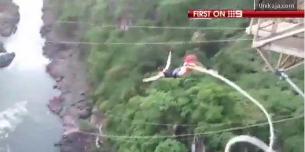 Erin Langworthy Bungee Jumping