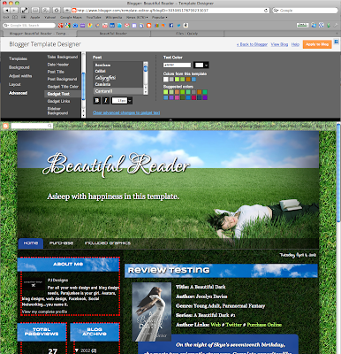 Screen+shot+2012 04 03+at+9.07.16+PM Premium Photo Templates Book Blogger Design