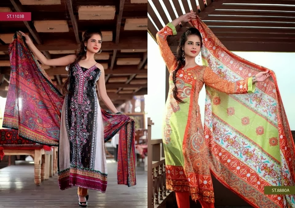 Fully Printed Lawn Long Shirts