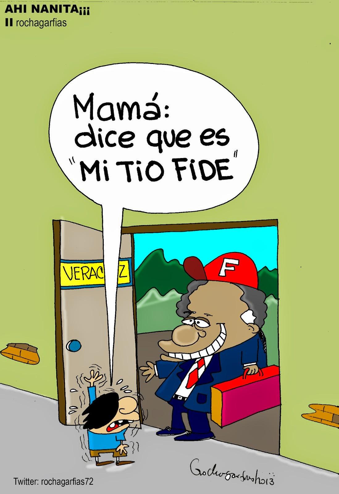 Veracruz: el regreso de FIDEL.