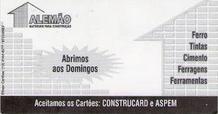 ALEMÃO HIDRÁULICA E MATERIAIS P/ CONSTRUÇÃO