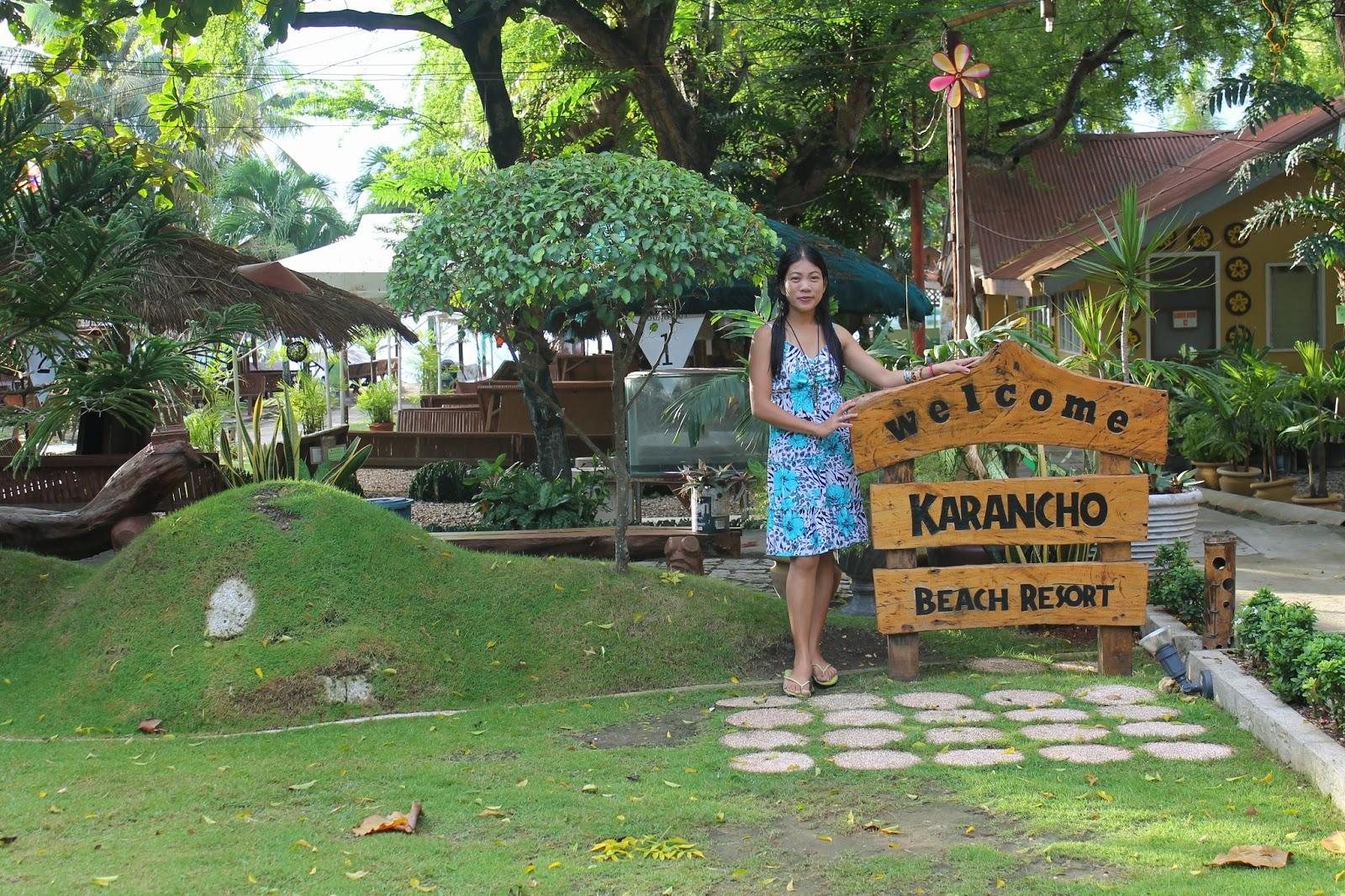 Special Morning Sunshine at Karancho Beach Resort in Marigondon