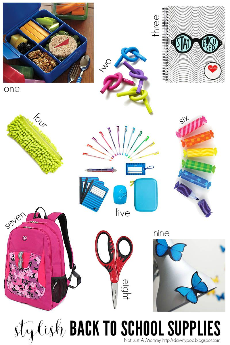 Stylish back to school supplies