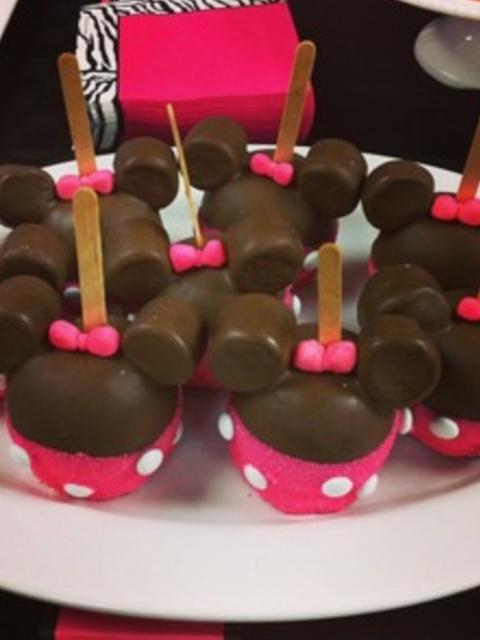 Decoraci  N De Fiestas Infantiles De Minnie Mouse