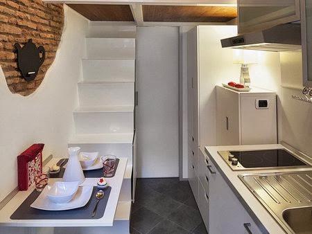 Италия  маленькая квартира