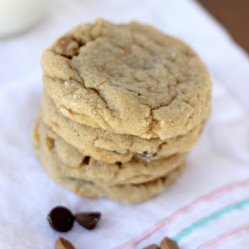 Double PB Chocolate Chip Cookies