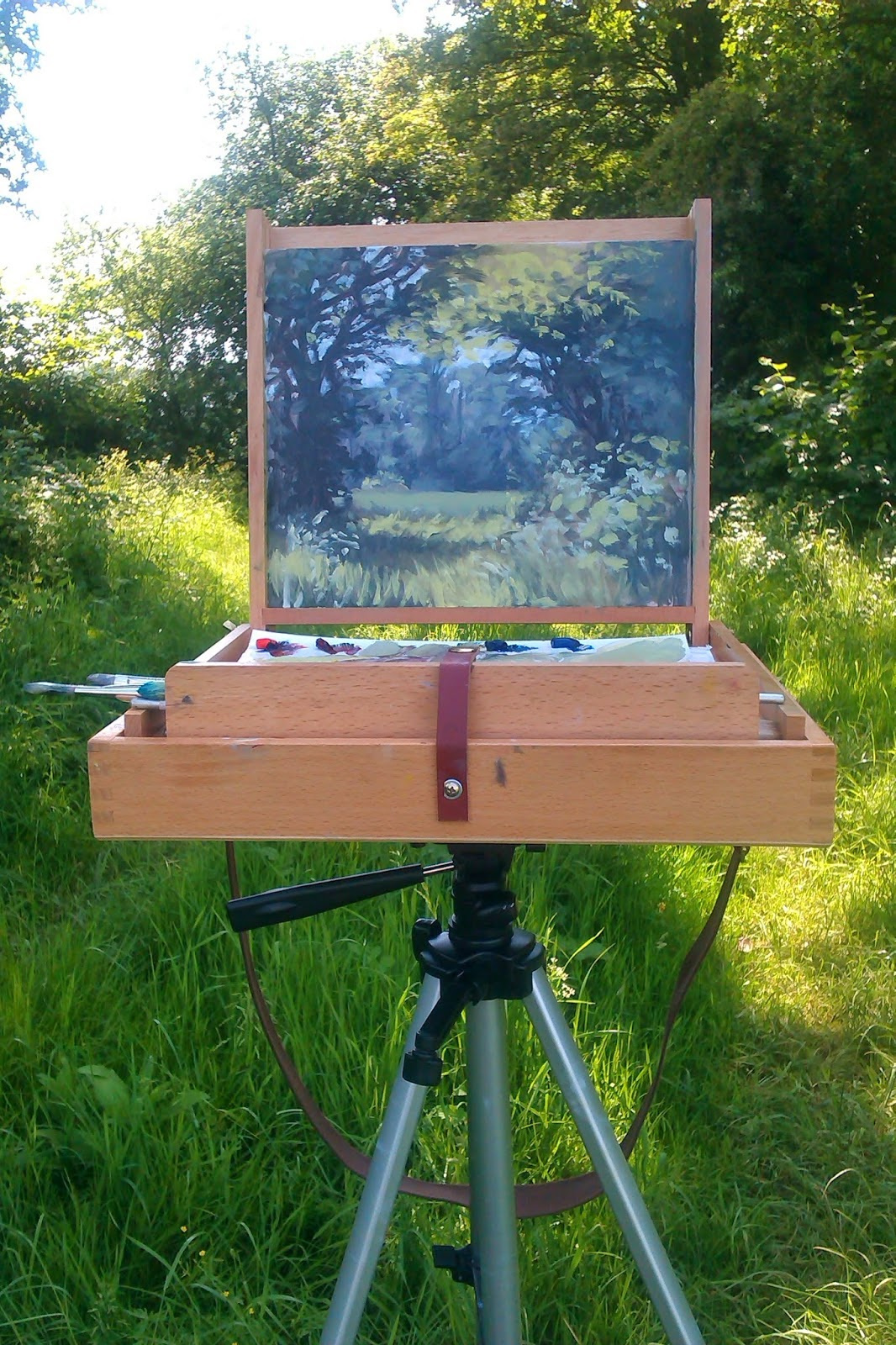 My Pochade Box and Plein-Air Painting
