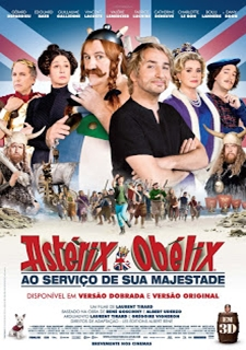 Asterix e Obelix: A Serviço de Sua Majestade – Torrent BluRay & DVDRip (2013) Dual Áudio