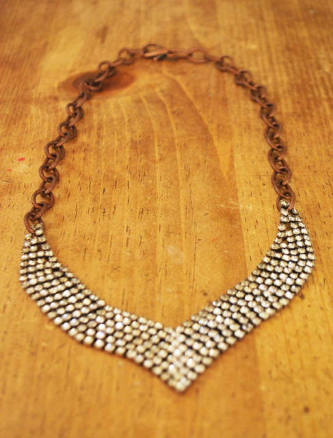 vintage jewelry, vintage necklace, flapper necklace, 1920's necklace, 1930's necklace