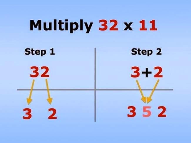 cómo multiplicar por 11