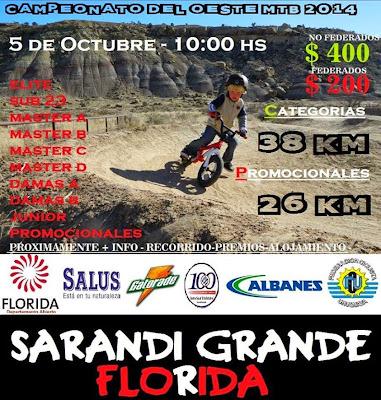 MTB en Sarandí Grande (Florida, 05/oct/2014)