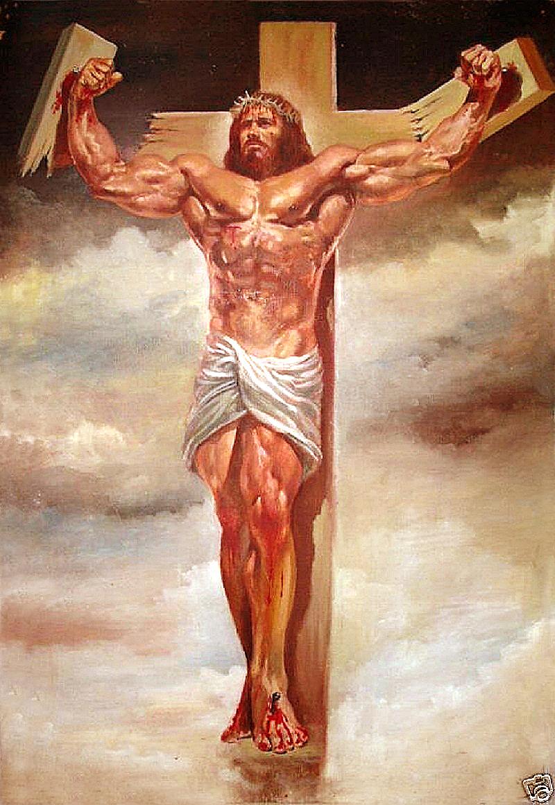 Superhero Jesus