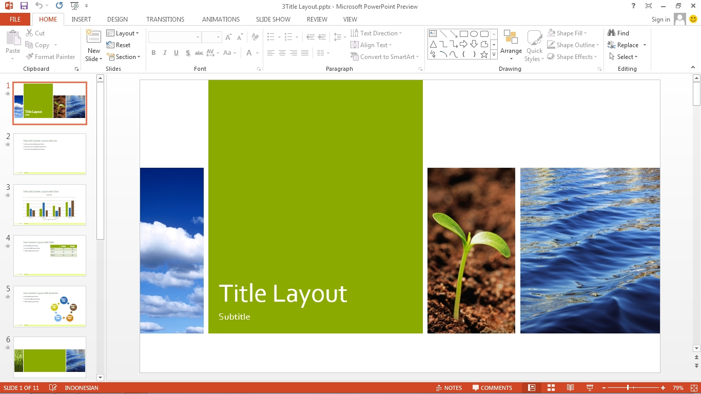 download template power point terbaru 2013