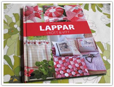 Boken Lappar i rött & vitt
