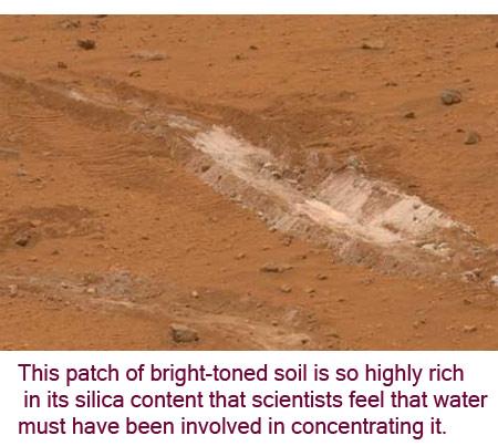 Diketemukan Air di Planet Mars