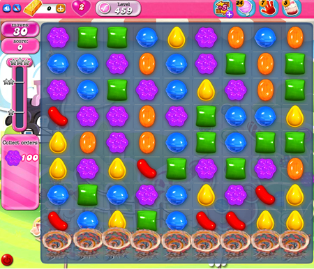 Candy Crush Saga 459