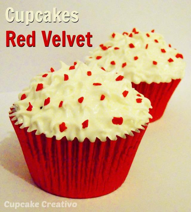 Receta Cupcakes Red Velvet, Crema de Queso