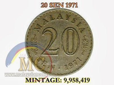 20 sen 1971