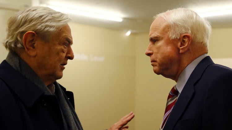 Image result for mccain soros