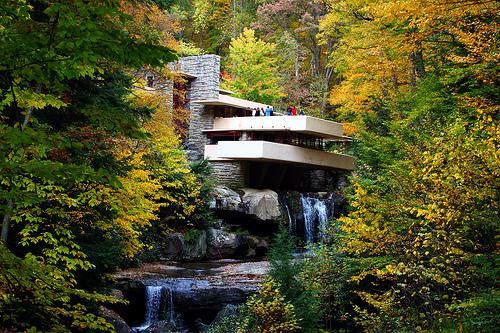 Modern Architecture Frank Lloyd Wright fallingwater: organic and modern architecture of frank lloyd