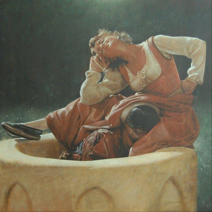 Antonio Sgarbossa 1945 | Pittore Figurativo Italiano by Tutt'Art@