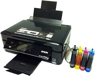 Принтер Epson с адаптацией СНПЧ