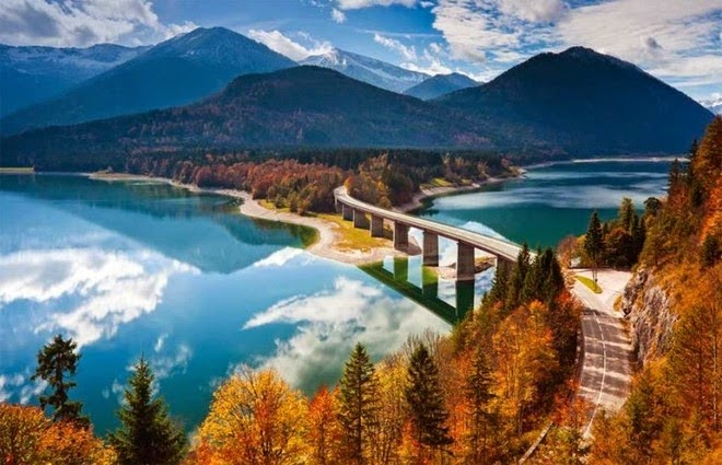 Những hình ảnh đẹp về cảnh yên bình của nước Đức
