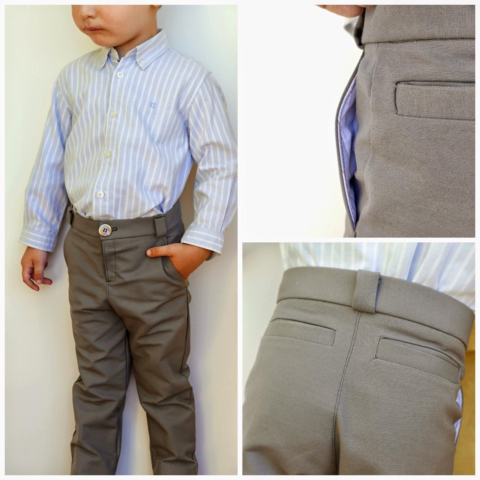 Cómo hacer paso a paso un pantalón de niño ~ Colours for Baby