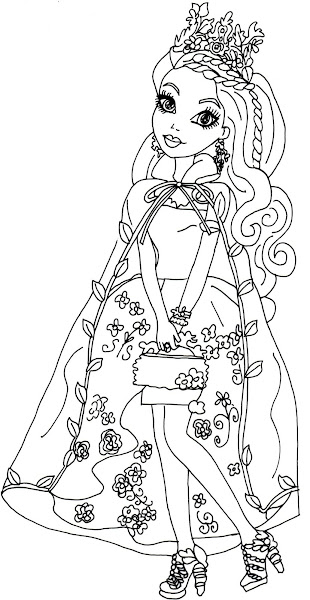 Ella Ever After High Coloring Pages