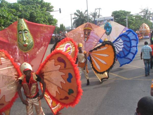 Pictures from 2012 Calabar festival, Cross Rivers, Nigeria