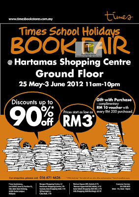 Timesbooks School Holidays book Fair 2012