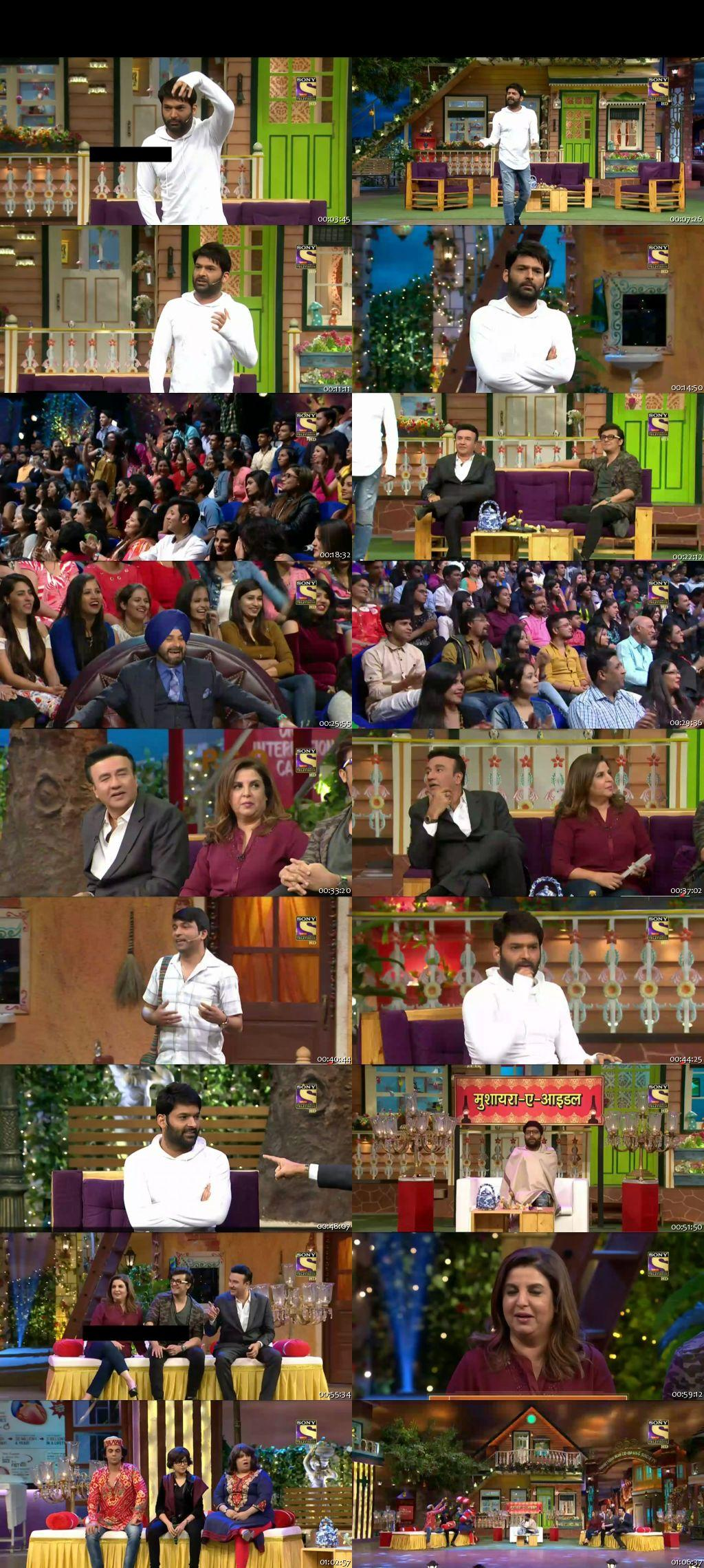 Screen Shot Of The Kapil Sharma Show 18th December 2016 Episode 68 300MB Watch Online