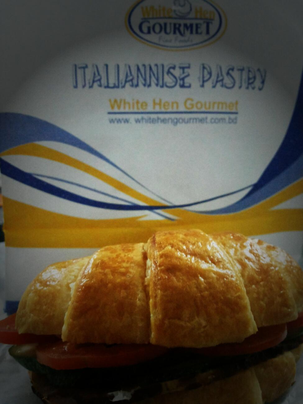 food, bangladesh, dhaka, banani, ham and cheese, croissant, pastries, white hen gourmet