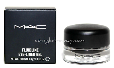 Review: Fluidline EyeLiner Gel Blacktrack - Mac Cosmetics