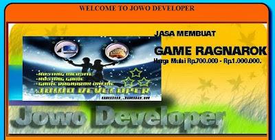 Jasa Pembuatan Website dan Blog Kota Solo | Jowo Developer