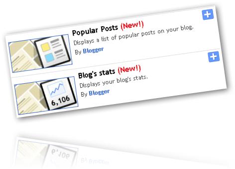 Cara Pasang Popular post Blogger Blogspot