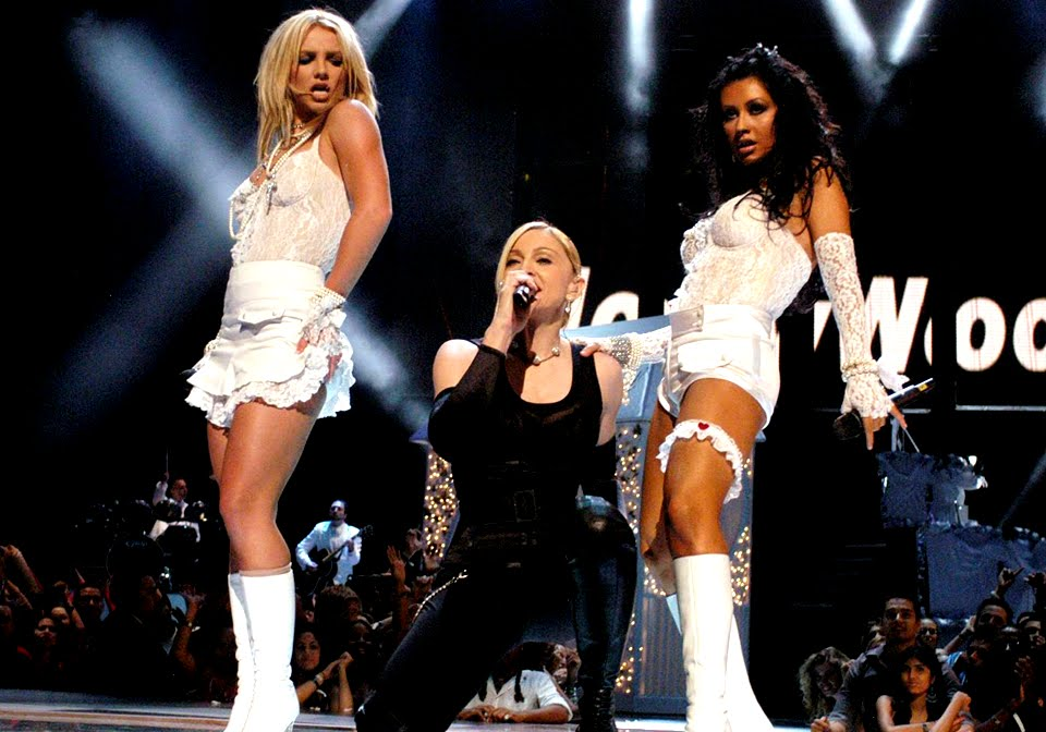 Britney Spears Madonna And Christina Aguilera Mtv Photo Gallery