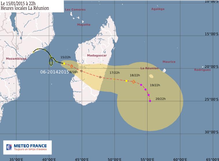 Dépression tropicale 6: le point à 22h