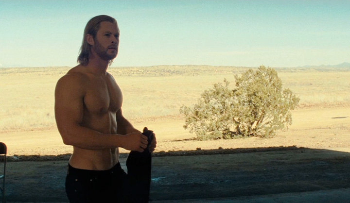 chris hemsworth thor shirtless. chris hemsworth thor body.