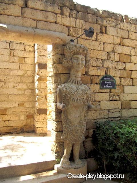лабиринт «Carthage Land» Тунис