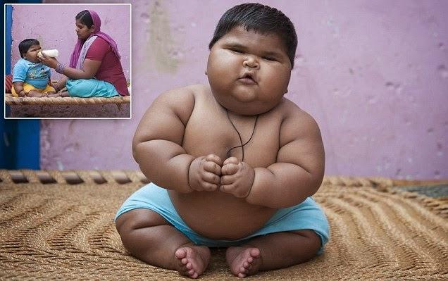 صورة لأضخم طفلة في العالم