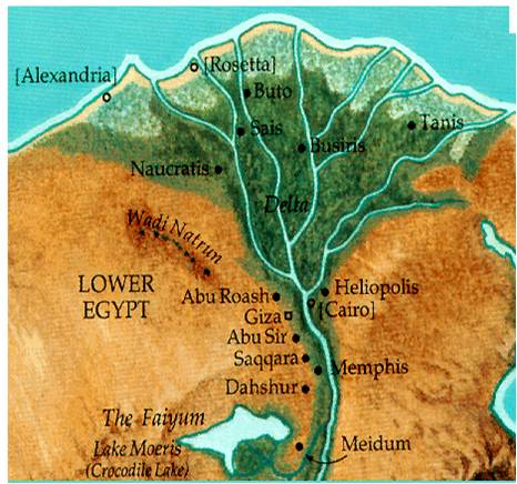 Mrs James Blog Ancient Egypt - Map of egypt elevation
