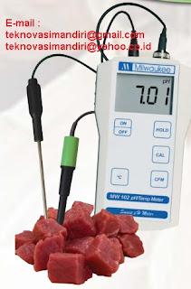 ph meter daging