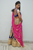 Pavani Gorgeous in half saree-thumbnail-5