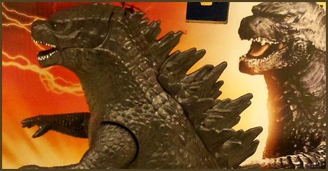 Bandai Godzilla Atomic Roar figure