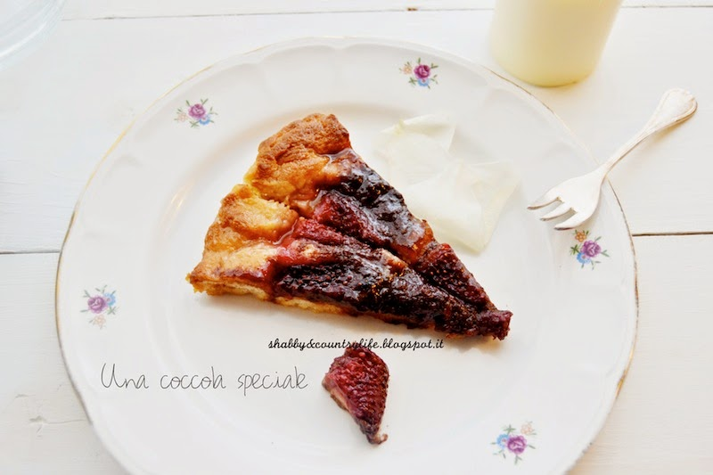 Una per Due! - Focaccia dolce fragole e nutella!- shabby&countrylife.blogspot.it