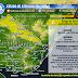 AVISO | Lluvias puntualmente intensas en el norte (PM Mar 9/6 - PM Mie 10/6)