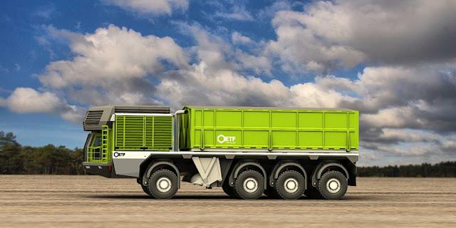 trenes de carretera autocargantes el camion que se carga solo 1
