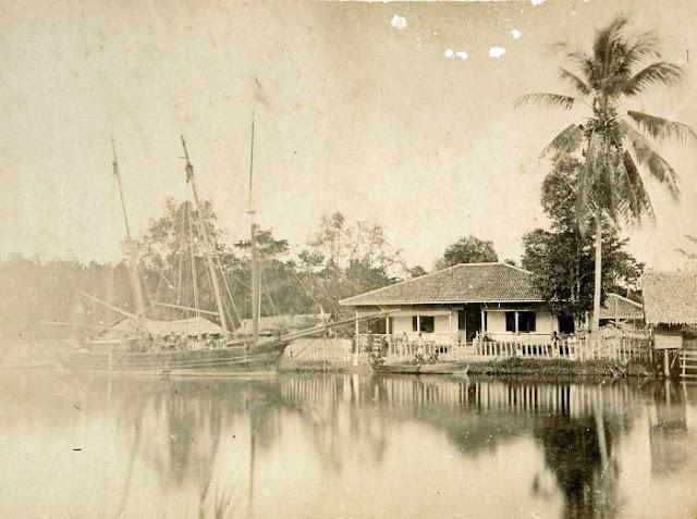 Deli river, circa 1870