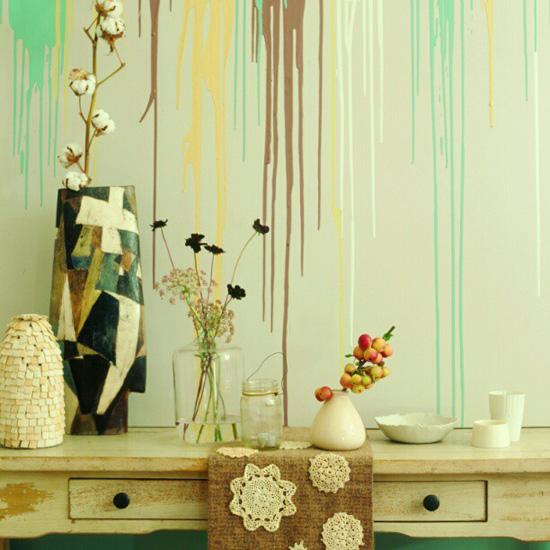 Mengecat Dinding Rumah Dengan Cara Yang Kreatif Dan Unik Sebagai
